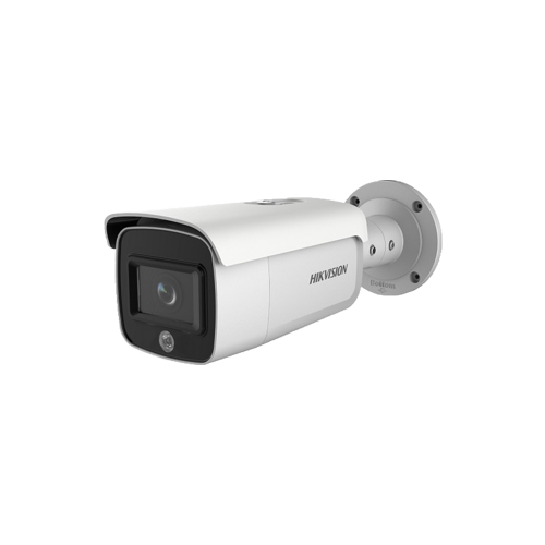 4 MP AcuSense Strobe Light and Audible Warning Fixed Bullet Network Camera